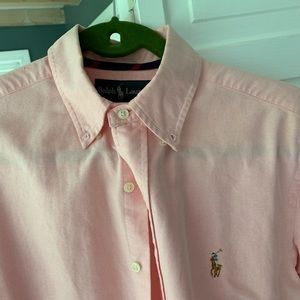 Pink Ralph Lauren Oxford